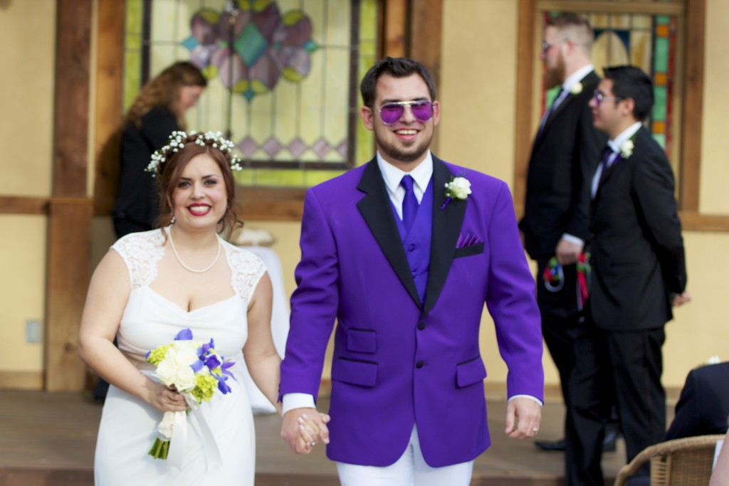 Matthew and Frances's Wedding Day 2015