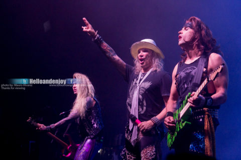 Permalink to: Steel Panther Live at Revention Center – Houston, Texas 10/15/2017